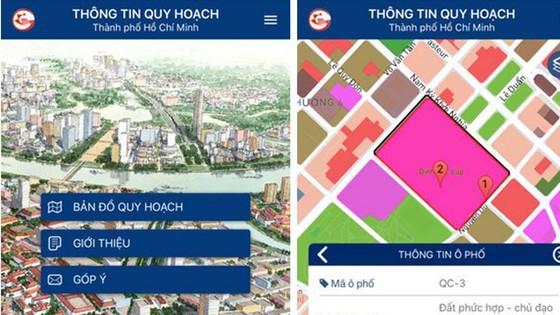Ngày 24-11 có thể tra thông tin quy hoạch TPHCM bằng smartphone