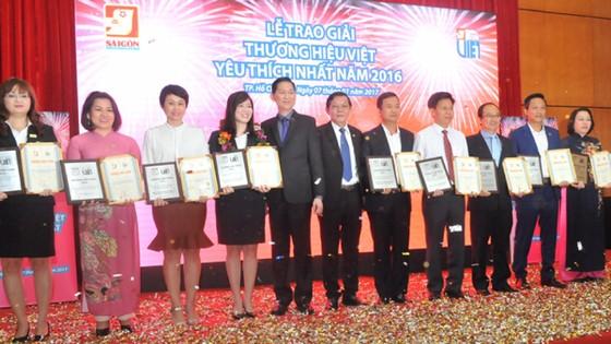 Thương hiệu Việt 2016 - Vinh danh 30 doanh nghiệp