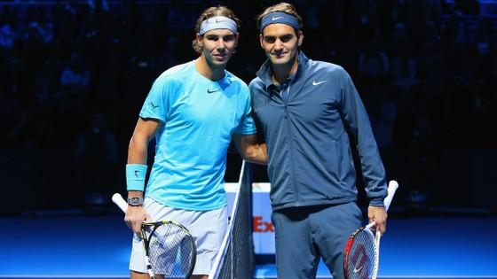 Bộ đôi Nadal- Federer trị giá 200 triệu USD lần đầu tiên sát cánh cùng nhau
