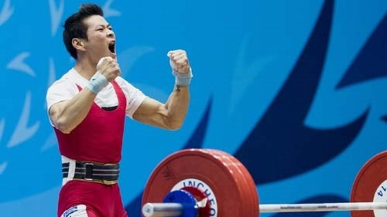 Thach Kim Tuan wins gold medal at National Weightlifting Championship