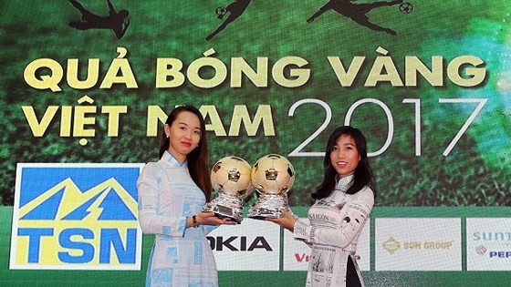 Press conference on Vietnamese Golden Ball Awards 2017