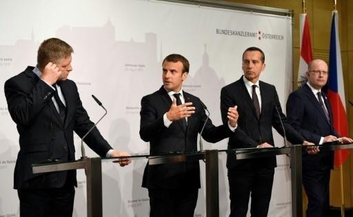 France's Macron sets sights on EU cheap labour rule