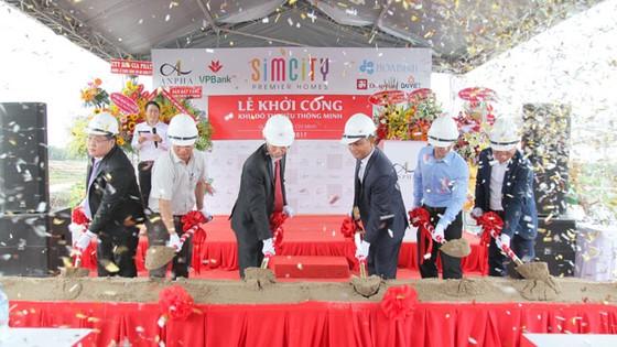 Lễ khởi công Khu đô thị thông minh kiểu mẫu SIMCity Premier Homes tại Trung tâm hành chính quận 9