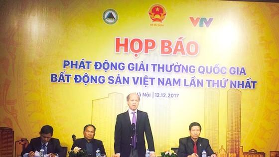 Phát động giải thưởng quốc gia BĐS Việt Nam lần thứ I