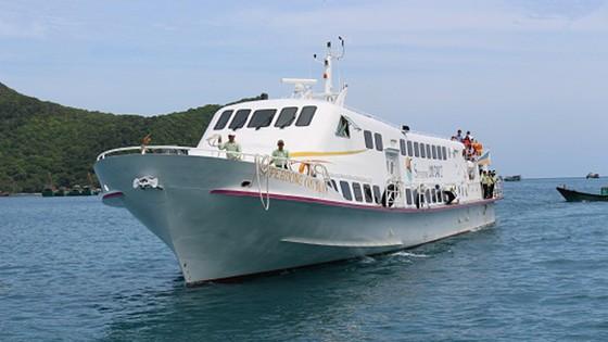 Tàu cao tốc vận tải hành khách Superdong Côn Đảo I. Ảnh: BaoBaRia