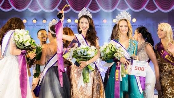 Phan Thi Mo wins World Miss Tourism Ambassador 2018.