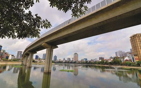 Đường sắt trên cao Cát Linh - Hà Đông (Ảnh minh họa: Quốc Tuấn/enternews.vn)