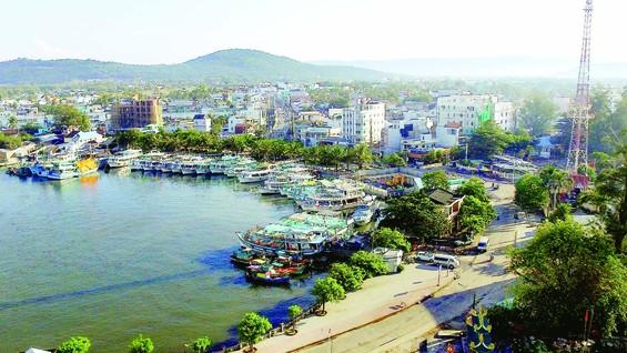 Thị trấn Dương Đông ngày nay