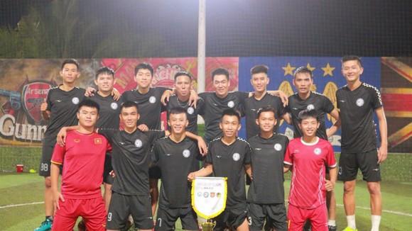 Bạch Mai FC, đội bóng được đánh giá sẽ là ứng cử viên cho chức vô địch.