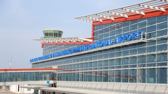 Van Don international airport in Quang Ninh will be operational in December. (Photo: vtv.vn)