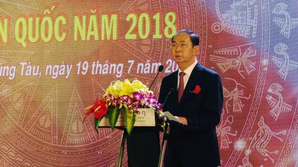 Chủ tịch nước Trần Đại Quang phát biểu tại hội nghị