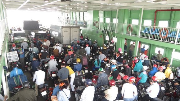 Cat Lai ferry in need of being replaced to increase regional connectivity (Photo: SGGP)