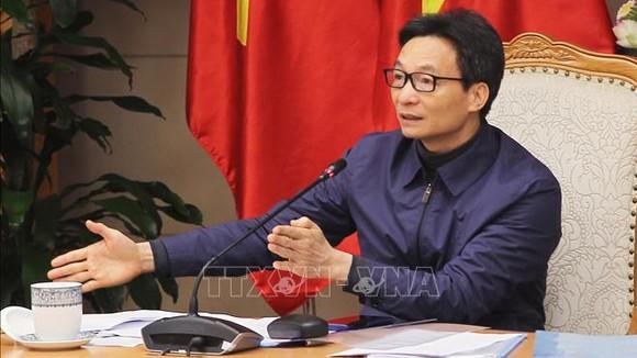 Phó Thủ tướng Vũ Đức Đam phát biểu. Ảnh: Lâm Khánh/TTXVN