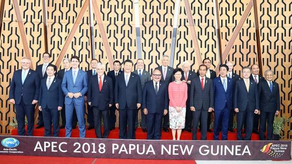 Lãnh đạo 21 nền kinh tế tại Hội nghị cấp cao APEC ở Papua New Guinea