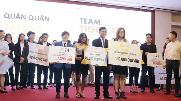 Trao giải thưởng cho các đội đoạt giải cuộc thi Talent Generation 2018
