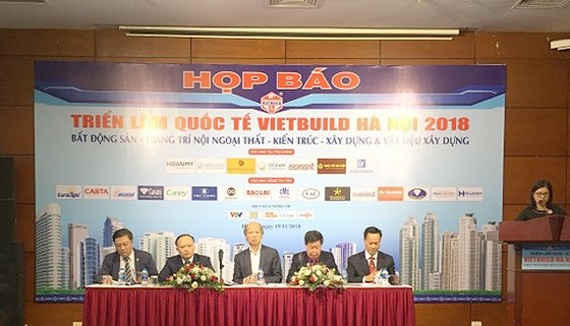 At a press meeting