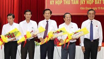 Ông Đỗ Thanh Bình làm Phó Chủ tịch UBND tỉnh Kiên Giang