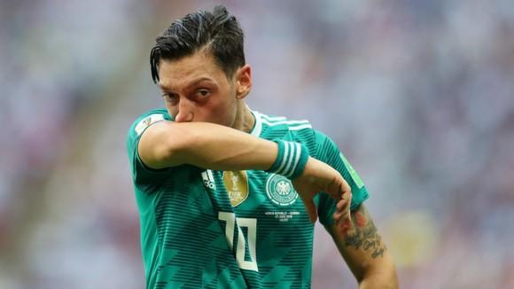 Mesut Oezil gây thất vọng ở World Cup 2018.