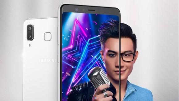 Galaxy A8 Star có giá bán gần 14 triệu đồng