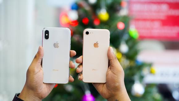 iPhone X cũ và iPhone 8 mới đang cùng nằm trong phân khúc tầm 17 triệu đồng