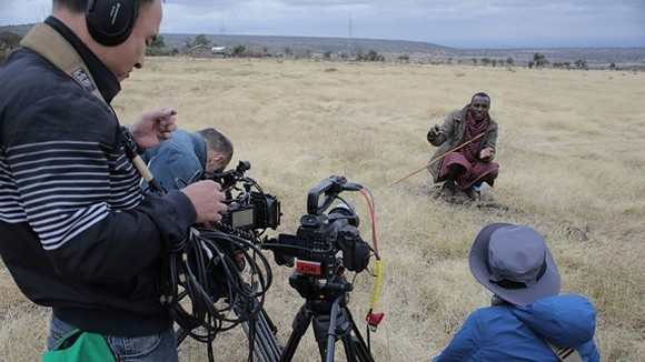 The movie is filmed in Africa.