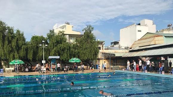Bơi lội là 1 trong những môn được tổ chức thi đấu tại Hội thao.
