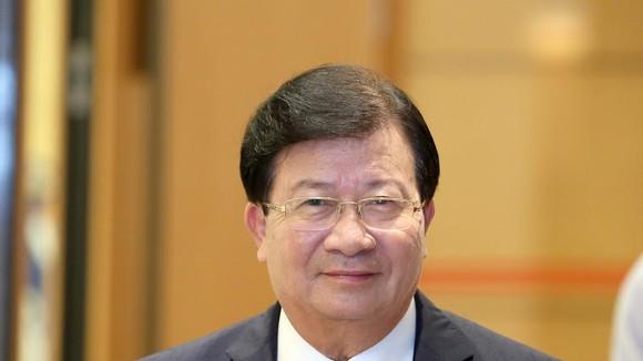 Phó Thủ tướng Trịnh Đình Dũng. Ảnh: VIẾT CHUNG