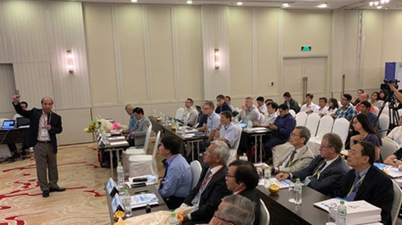 Scientists attending the international conference on computational science and engineering (ICCSE-4) held by the Institute for Computational Science and Technology (ICST)