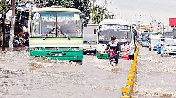 High tide forecast to exceed alert level 3 in Ho Chi Minh City