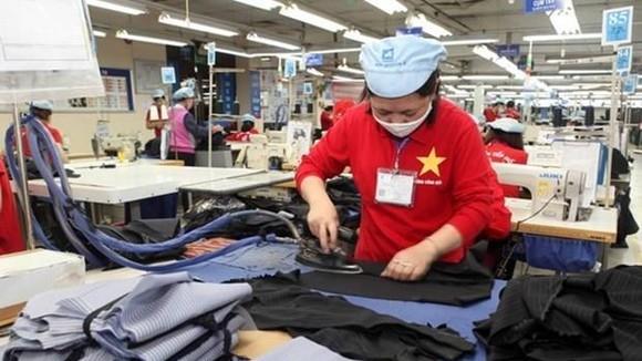 The factory of the Garment 10 JSC in Hanoi (Photo: VNA)