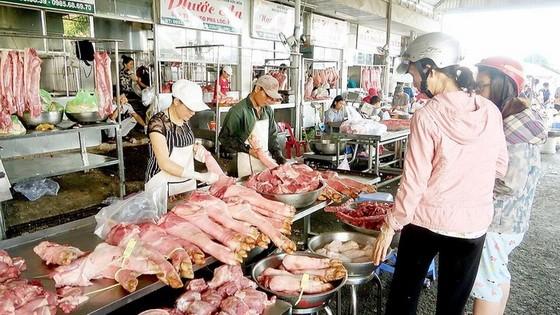 本市的確保食品衛生安全街市。