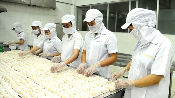 A Food processing industry has many advantages in export to India (Photo: SGGP)