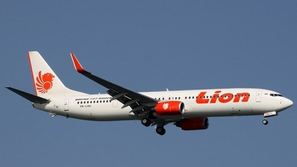 A Lion Air plane (Source: Airline Ratings)