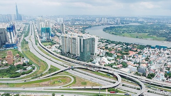 Hanoi Highway in District 9, HCMC (Photo: SGGP)