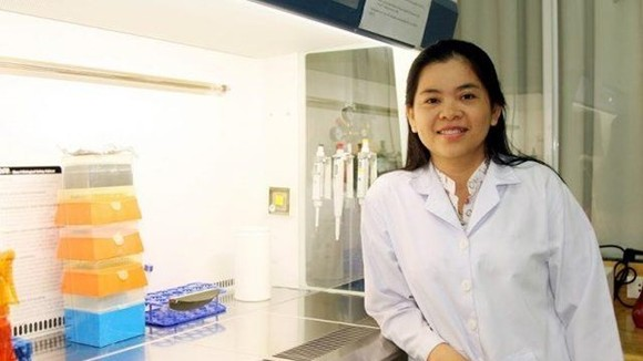 Dr Nguyen Thi Hiep works at International University under the Vietnam National University – Ho Chi Minh City (Photo courtesy of Nguyen Thi Hiep)