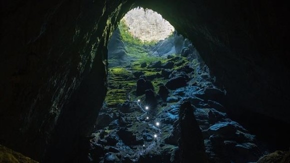 Part of the Son Doong Cave (Photo: bvhttdl.gov.vn)