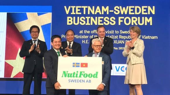 Lễ công bố chính thức vận hành nhà máy sữa NutiFood Sweden AB