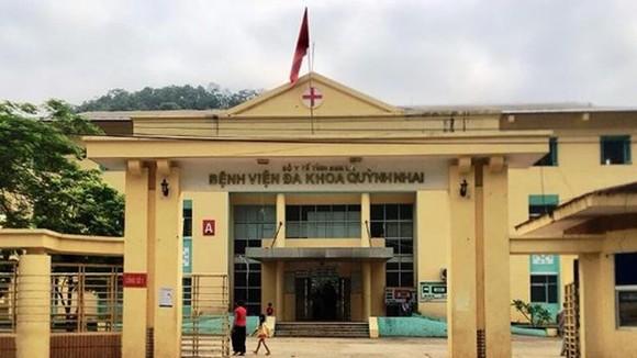 Bệnh viện Đa khoa Quỳnh Nhai - nơi xảy ra vụ việc