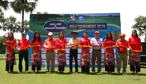 Cắt băng khai mạc giải Golf Báo chí và Doanh nghiệp Tournament 2019 tại Long Thành