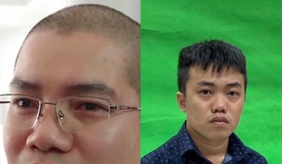 Nguyễn Thái Luyện và Nguyễn Thái Lĩnh (từ trái qua phải)