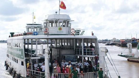 Mở tuyến vận tải hành khách - hàng hóa phà biển Cần Giờ - Vũng Tàu