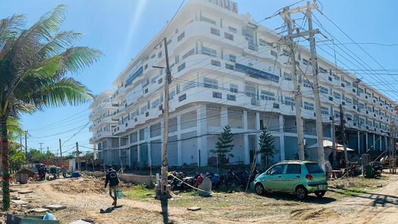 Dự án Aloha Beach Village của Công ty BĐS Việt Úc đã và đang hoàn tất các hạng mục cuối cùng giai đoạn 1 của dự án