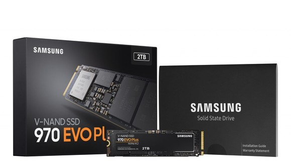 Sản phẩm 970 EVO Plus của Samsung