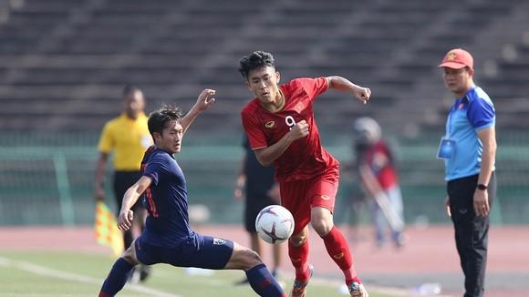 Việt Nam giành ngôi đầu bảng A. Ảnh: DŨNG PHƯƠNG