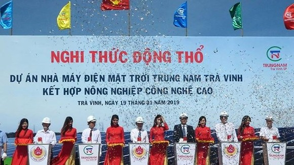 Work begins on 152.7-million-USD solar power plant in Tra Vinh (Source: tienphong.vn)