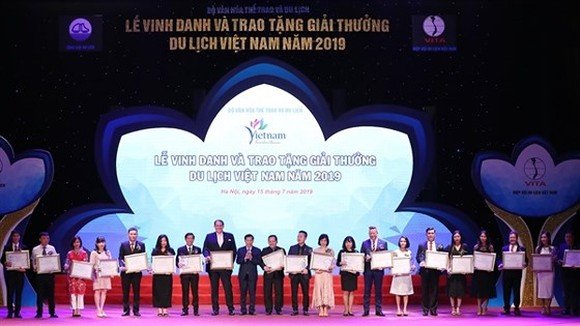 Winners of Vietnam Tourism Awards 2019