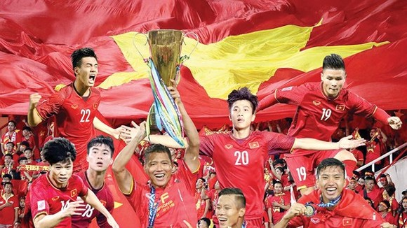 The Vietnamese national men football team