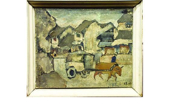 Bức Phố cũ được cho là của Bùi Xuân Phái bị nghi vấn là tranh chép