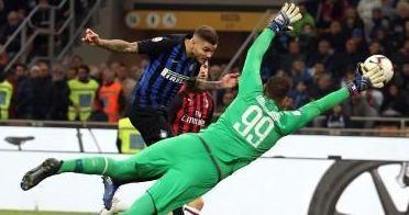 Mauro Icardi hạnh phúc khi ghi bàn phút 93, nhấn chìm AC Milan