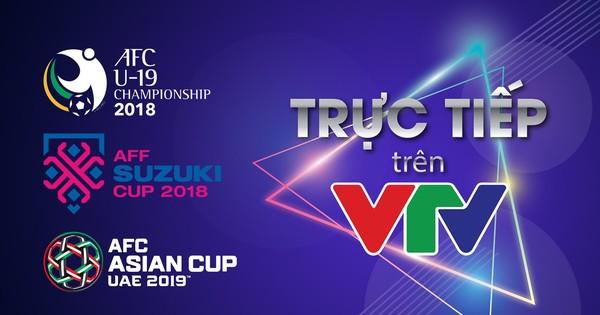 VTV chính thức thông báo sở hữu bản quyền 3 giải đấu lớn